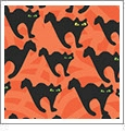 Halloween 5 - QuickStitch Embroidery Paper - One 8.5in x 11in Sheet- CLOSEOUT