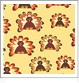 Thanksgiving 1 - QuickStitch Embroidery Paper - One 8.5in x 11in Sheet- CLOSEOUT