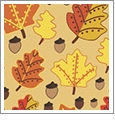 Autumn 1 - QuickStitch Embroidery Paper - One 8.5in x 11in Sheet - CLOSEOUT