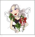 Fairy Merry Christmas by Loralie Designs Embroidery Designs on a Multi-Format CD-ROM 630098