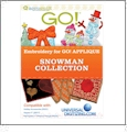 Snowman Collection Multi-Format Embroidery Design Pack by GO! Universal - UND0006