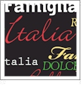 Roma Italiano- Black 1 - QuickStitch Embroidery Paper - One 8.5in x 11in Sheet