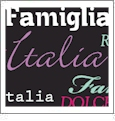 Roma Italiano- Black 2 - QuickStitch Embroidery Paper - One 8.5in x 11in Sheet