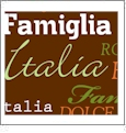 Roma Italiano- Brown - QuickStitch Embroidery Paper - One 8.5in x 11in Sheet