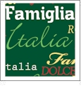 Roma Italiano- Green - QuickStitch Embroidery Paper - One 8.5in x 11in Sheet