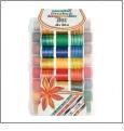 Madeira Overlock Inspiration Thread Kit with Portable Travel Thread Box