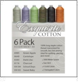 Exquisite Cotton Long Arm Quilting Cotton Thread Assortment Kit #8