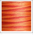 8002 Variegated Sunset - YLI Variations Embroidery Thread - 1000 yard spool