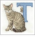 Cat Alphabet Embroidery Designs on CD from the Vermillion Stitchery 73100