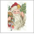 Victorian Santas Embroidery Designs on CD from the Vermillion Stitchery 72500