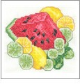 Glorious Fruit Embroidery Designs on CD from the Vermillion Stitchery 72200