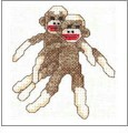 Sock Monkeys Embroidery Designs on CD from the Vermillion Stitchery 72000