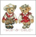 International Bears  Embroidery Designs on CD from the Vermillion Stitchery 70500