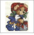 Bundle of Christmas Bears Embroidery Designs on CD from the Vermillion Stitchery 71200
