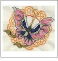 Oriental Butterflies Embroidery Designs on CD from the Vermillion Stitchery 70900