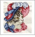 Antique Cats Embroidery Designs on CD from the Vermillion Stitchery 70400