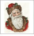 Santa Portrait and Toys Embroidery Designs on CD from the Vermillion Stitchery 70300