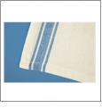 Blue Vintage Striped Towel Set Embroidery Blanks