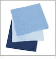 Blueberry Shake Flour Sack Towels Embroidery Blanks