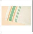 Green Vintage Striped Towel Set Embroidery Blanks