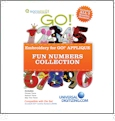 Fun Numbers Collection Multi-Format Embroidery Design Pack by GO! Universal - UND0009