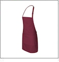 Full Apron Embroidery Blanks - FRENCH MERLOT