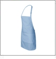 Full Apron Embroidery Blanks - GLACIER BLUE