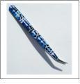 WunderStitch Designer Tweezers - BLUE FLORAL