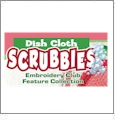 Dish Cloth Scrubbies Embroidery Designs by Dakota Collectibles on Multi-Format CD-ROM F70470