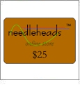 $25 Gift Certificate to Monogram Wizard Download Store (redeemable at www.needleheads.com)