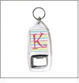 Bottle Opener Keychain - Acrylic Embroidery Blanks