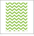 Chevron 2  - QuickStitch Embroidery Paper - One 8.5in x 11in Sheet - CLOSEOUT