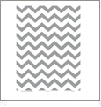 Chevron 4  - QuickStitch Embroidery Paper - One 8.5in x 11in Sheet