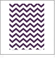 Chevron 5  - QuickStitch Embroidery Paper - One 8.5in x 11in Sheet - CLOSEOUT