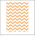 Chevron 6  - QuickStitch Embroidery Paper - One 8.5in x 11in Sheet