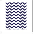 Chevron 8  - QuickStitch Embroidery Paper - One 8.5in x 11in Sheet