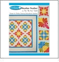 "Heather Feather - The ""Be You"" Quilt Multi-Format Embroidery Design Pack by Sarah Vedeler Designs"