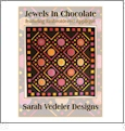 Simply Circles - Jewels In Chocolate Multi-Format Embroidery Design Pack by Sarah Vedeler Designs