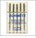 Schmetz Topstitch Sewing Needles Size 100/16 - 5 Needle Pack