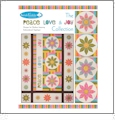 Peace Love & Joy Collection Multi-Format Embroidery Design Pack by Sarah Vedeler Designs PLJ-01