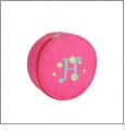 Jewelry Case Embroidery Blanks - HOT PINK