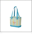 Cooler Tote Embroidery Blanks - MULTI STRIPE