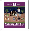 Nativity Play Set Embroidery Designs By Oklahoma Embroidery on Multi-Format CD-ROM