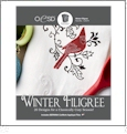 Winter Filigree Embroidery Designs By Oklahoma Embroidery on Multi-Format CD-ROM