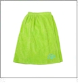 Adult Terry Towel Wrap Embroidery Blanks - LIME GREEN