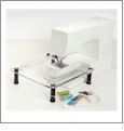 "Sew Steady ""Junior"" Clear Acrylic Portable Table - 11.5in x 15in"