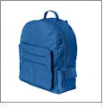 "Eco-Friendly 16"" Backpack Embroidery Blanks - ROYAL"