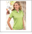Ladies� Palmetto Sport Shirt with Hydrovent Technology Embroidery Blanks - LEMONADE - CLOSEOUT