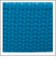 "1.25"" Heavyweight Cotton Webbing - TURQUOISE - 1 Yard"