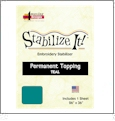 Stabilize It 26in x 36in Sheet Permanent Embroidery Topping - TEAL